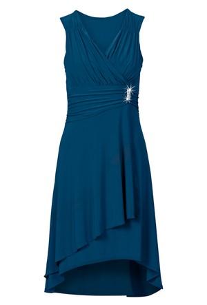 Bodyflirt Mavi Aplikeli Elbise