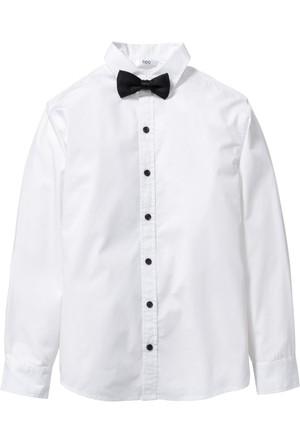 Bpc Bonprix Collection - Beyaz Papyonlu Gömlek