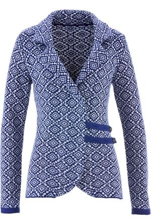 Bpc Bonprix Collection - Mavi Geleneksel Alman Stili Hırka