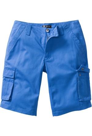 Bpc Selection Mavi Kargo Bermuda Loose Fit