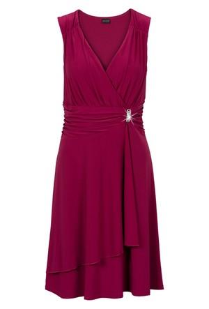 Bodyflirt Kırmızı Aplikeli Elbise