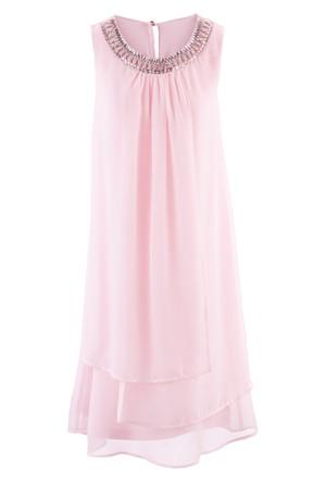 Bpc Selection Premium Pembe Aplikeli Elbise
