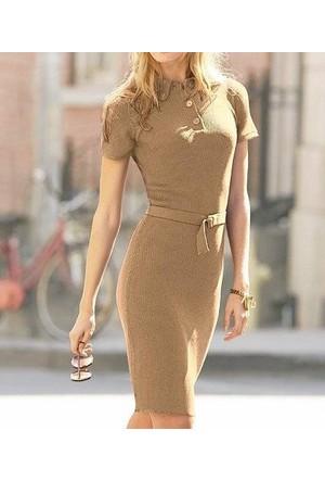 Victorias Secret Moda International Polo Kazak Elbise - Small