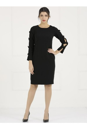 Faik Sönmez Siyah Elbise 33158