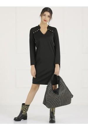 Faik Sönmez Siyah Elbise 33159