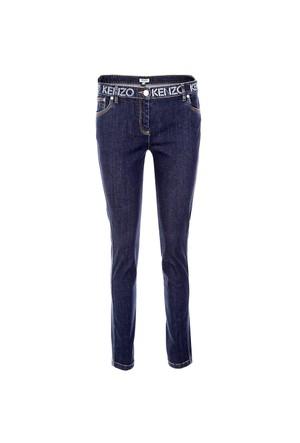 Kenzo Jeans Kadın Kot Pantolon F662Pa2456Eg