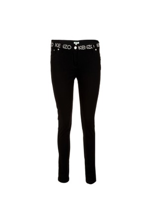 Kenzo Jeans Kadın Kot Pantolon F662Pa2456Ek