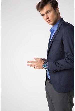 Defacto Erkek Lacivert Blazer Ceket