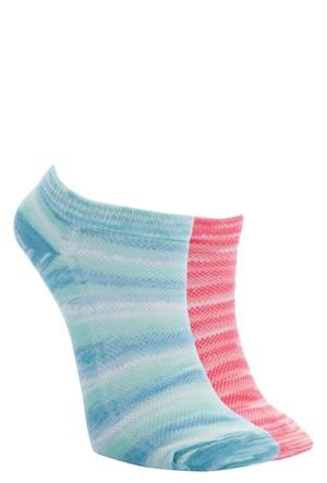 Defacto Kadın Renkli 2'Li Patik Çorap