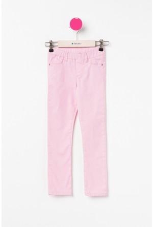 Defacto Kız Çocuk Pembe Tayt Pantolon