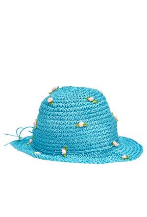 Coquet Accessories Fötr Çiçekli Şapka