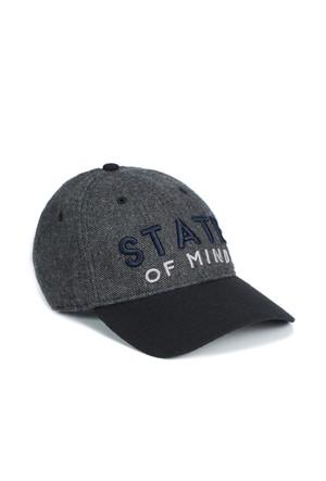 Mavi Antrasit Şapka