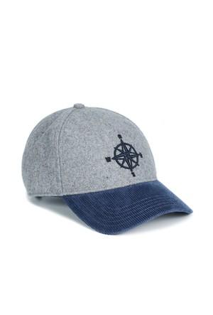 Mavi Gri Şapka