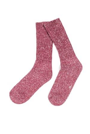 Mavi Pastel Pembe Çorap