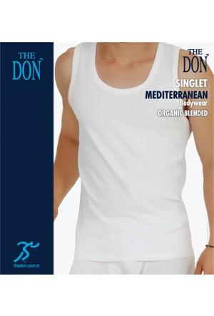 TheDON Erkek Singlet Beyaz Renk