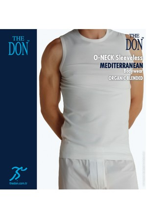 TheDON Erkek 0-Neck Sleeveless Beyaz Renk