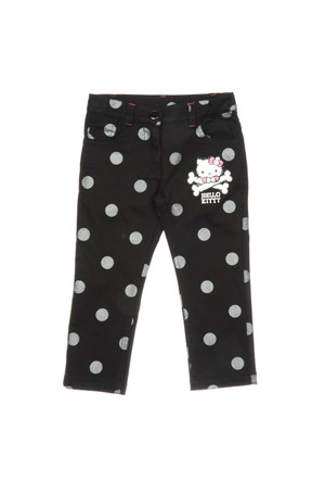 Panço 1522140 Hello Kitty Pantolon Siyah