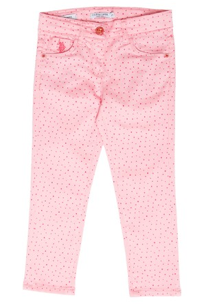 U.S. Polo Assn. Sherry6S Kız Çocuk Dokuma Spor Pantolon