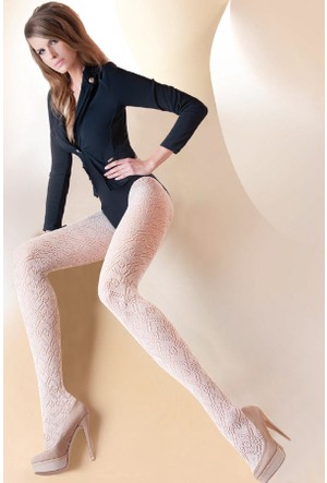 Gabriella 200 den Kemik Pamuk Külotlu Çorap CASHMIR 207 LATTE
