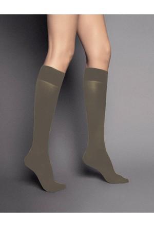 Veneziana 40 den Gri Dizaltı Çorap katrin grigio