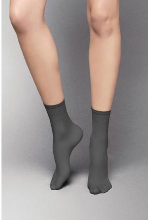 Veneziana 8 den Siyah Kısa Çorap SUMMER LIGHT8 NERO