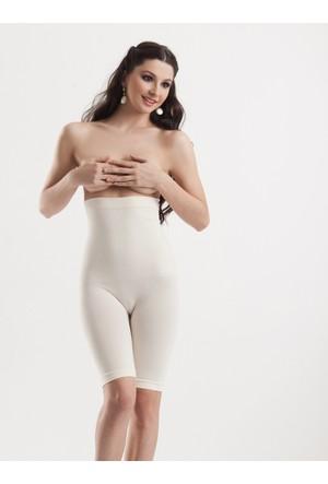 Miss Modin Bambu Silikonlu Mideli Uzun Paça Korse