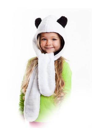 Denokids Uzun Kulak Panda Şapka