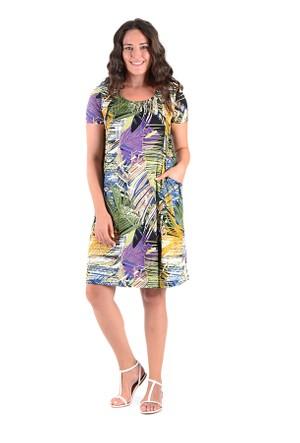 Tepa Haki Palmiye Momy Elbise
