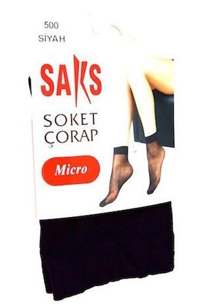 Soket Çorap Micro 500-Siyah