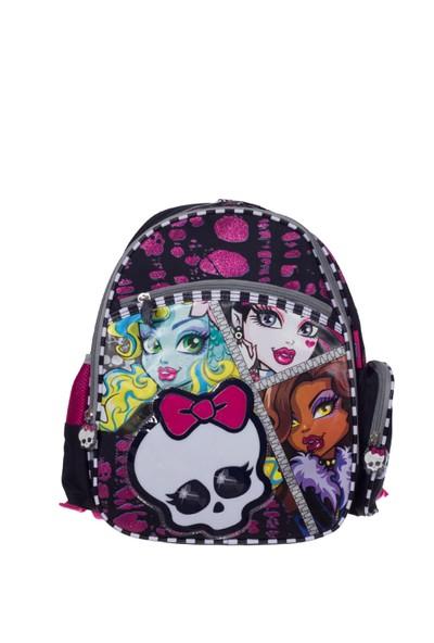 Monster High Çocuk Sırt Çantası 62433 Siyah 28*37*14