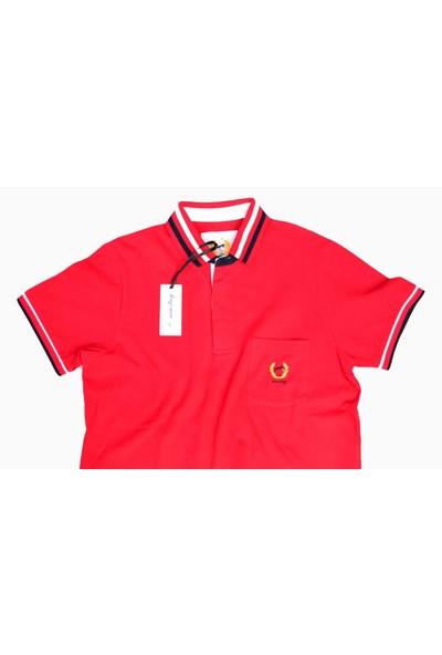 Mustay 162501 Kırmızı Cepli T-Shirt