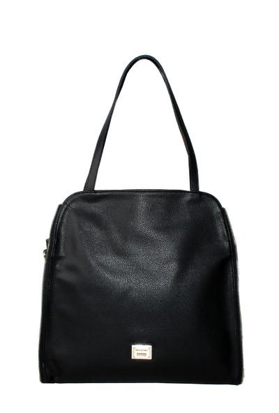 Nas Çanta Siyah Bayan El Çantası-1485