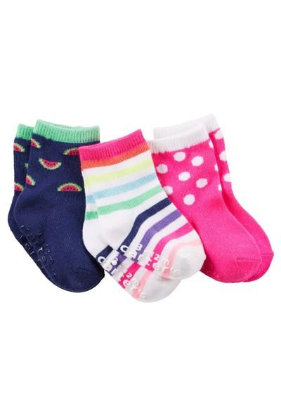 Carter's Kız Çocuk 3'Lü Çorap 60265