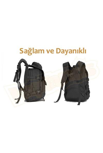 Protector Plus 40L Molle Taktik Çanta (Siyah)