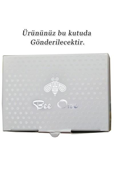 Bee One Turkuaz Taşlı Gümüş Kaplama Tesbih cs95