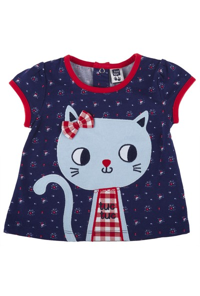 Tuc Tuc Kedi Nakışlı T-Shirt Saint Tropez