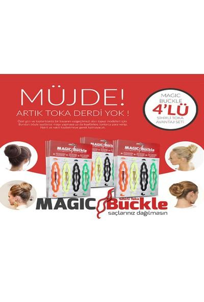 Toptancı Kapında Sihirli Topuz Tokası Magic Buckle 4 Adet