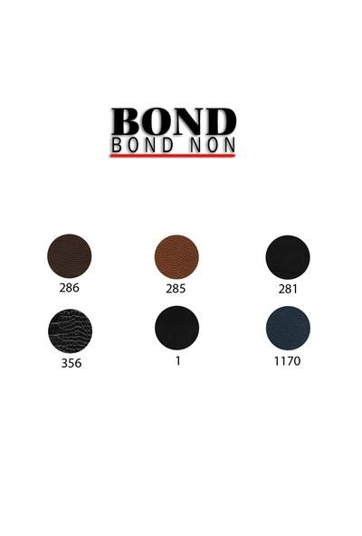 Bond 1003-281 Flotur Siyah Hakiki Deri Erkek El Çantası