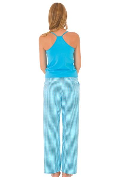 TheDON Camisole Turkuaz Renk Bayan Askılı Atlet