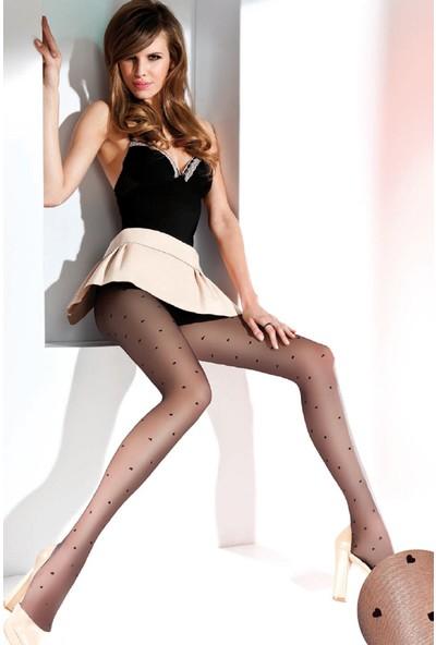 Gabriella 20 den Siyah Külotlu Çorap EMILY NERO