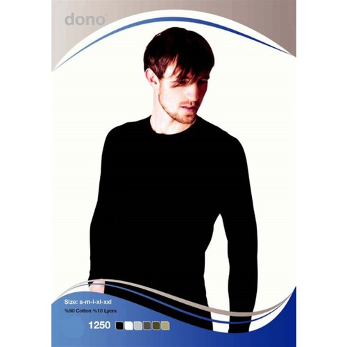 Dono 1250 Uzun Kol Likralı T-Shirt