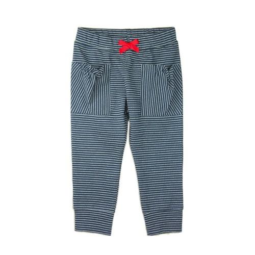 Karamela Çizgili Trendy Pantolon