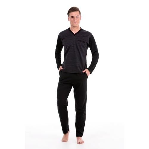 Pierre Cardin Erkek Uzun Kol Pijama Takım 5237
