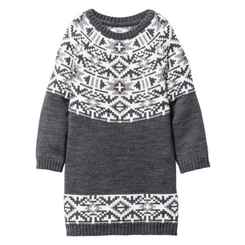 Bpc Bonprix Collection Gri Örgü Elbise