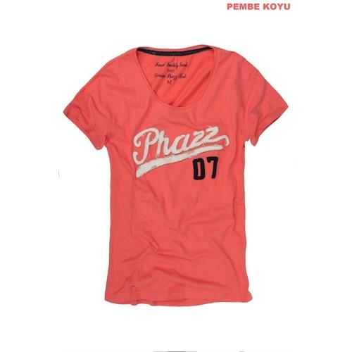 Develi Piramit Tshirt Geniş Yaka T-16_Narçiçeği