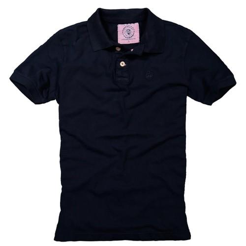 Develi Piramit Tshirt Polo Yaka P06-2_Lacivert