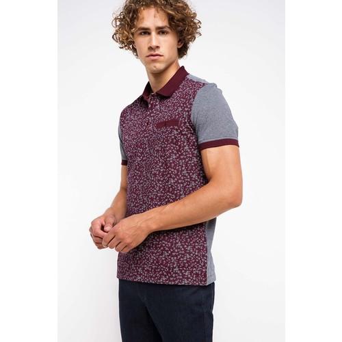DeFacto Erkek Bordo Cepli Polo T-Shirt