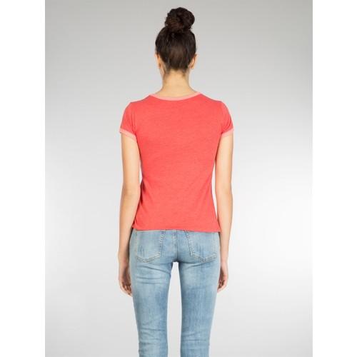 Colin's Kırmızı Kadın T-Shirt Kısa Kol