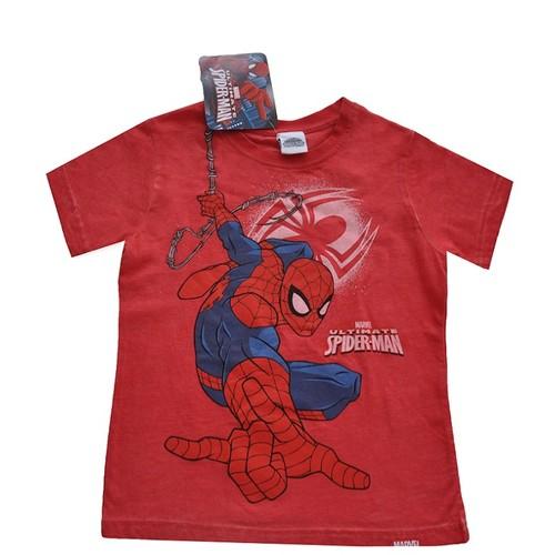 Örümcek Adam Tişört - Kırmızı - Spiderman T-shirt
