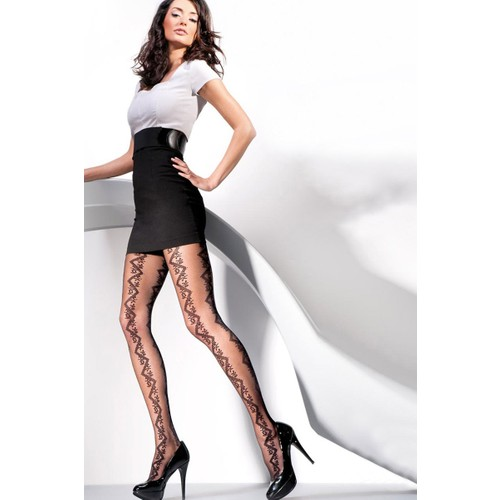 Gabriella 20 den Siyah üKülotlu Çorap NOEMI NERO